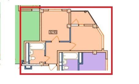 1 комнатная квартира в жк александрит сочи