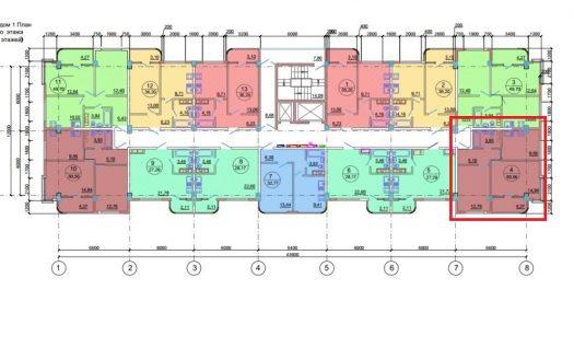 2-х комнатная кваритира в жк новая заря сочи 54