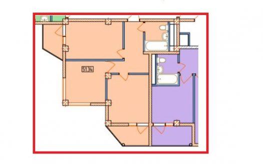 2 комнатная квартира в ЖК Александрит Сочи