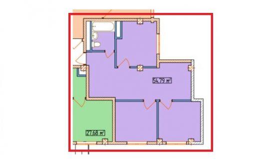 3 комнатная квартира в ЖК Александрит Сочи