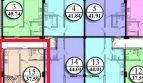 1-комнатная квартира 37.5 кв м в ЖК Посейдон от собственника на Мамайке
