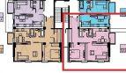 Двух-комнатная квартира 53,5 кв м ЖК Моравия Сочи в Центральном районе