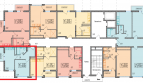 Двух-комнатная квартира 35.5 кв м в ЖК Фрукты от собственника