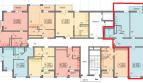 Двух-комнатная комнатная квартира с видом на море 75 кв м в ЖК Фрукты