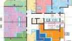 1 комнатная квартира 33 кв м в ЖК Голубые Дали