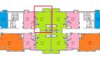 Акция!!! Двух-комнатная квартира 56.64 кв.м. в ЖК Семейный всего 4550.000р