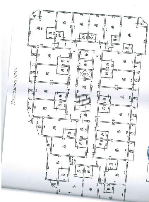 ЖК «RED GLADE» Красная поляна Сочи - План этажа