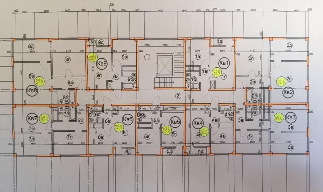 ЖК Гармония 3 Сочи Планировка квартир
