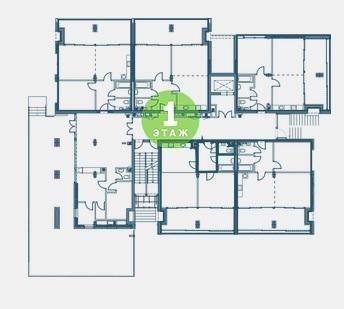 Екатерининский квартал Адлер План 1 этажа