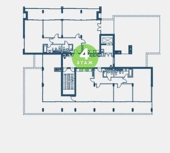 Екатерининский квартал Адлер План 4 этажа