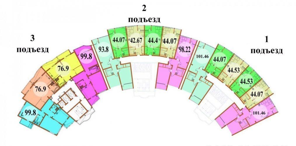 ЖК Парк Горького Сочи План