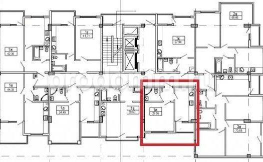 ЖК Посейдон Сочи планировка квартиры