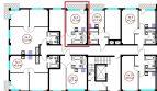 Квартира студия 33,3 кв м в ЖК Гармония-4 недвижимость Сочи у моря