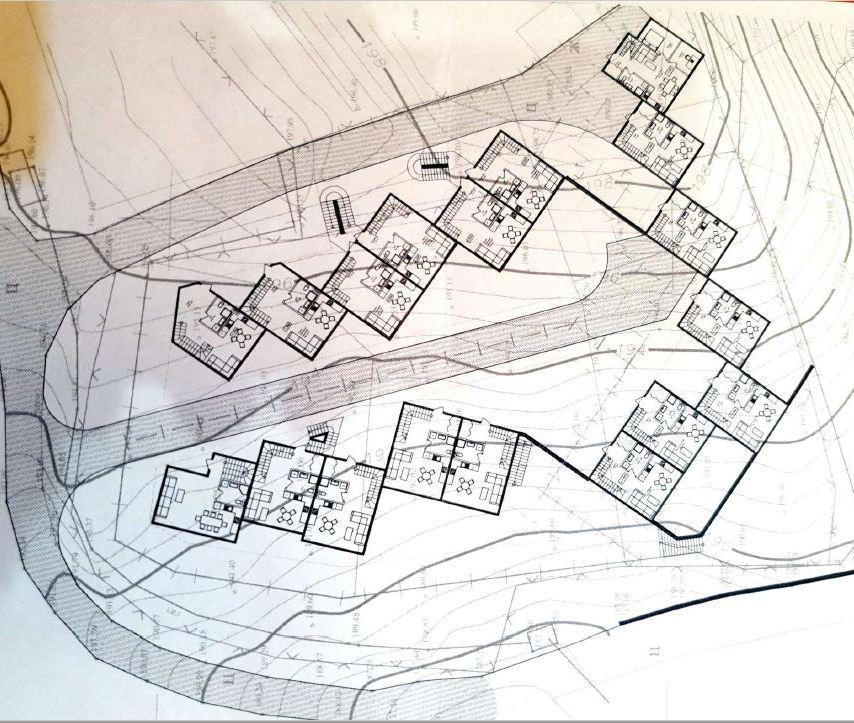 Коттеджный посёлок Мечта - План застройки
