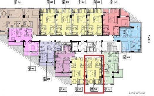 ЖК Мадрид 4 - квартира 31.9 кв м у моря