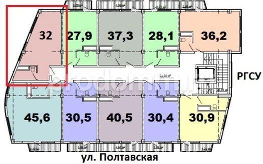 ЖК Монте-Карло Сочи квартира студия 32 кв м