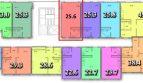 Однокомнатная квартира студия 25,6 м ЖК «Тихий Дон» вторичное жилье в Сочи