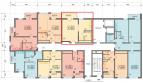 1 комнатная квартира 42,2 кв м ЖК Фрукты у моря Сочи с балконом