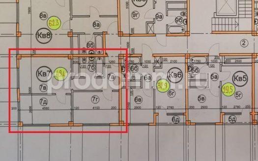 ЖК Гармония 3 Сочи План 2-комнатной квартиры