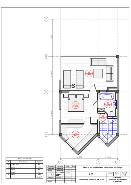 Таунхаус на Курортном проспекте 96/4 - 3 этаж