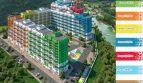 Квартира студия 28,4 кв.м. ЖК «Летний» Сочи Кудепста с балконом